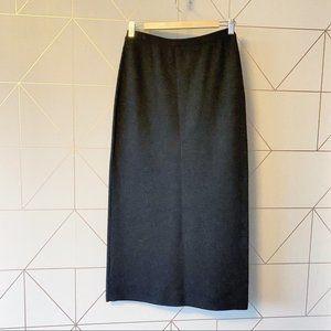 Eileen Fisher Merino Wool Maxi Skirt